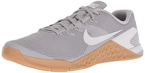 Nike Men's Metcon 4 Cross Training Shoe (10, Grey/Brown)