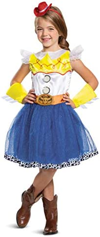 Toy Story 4 Kids Cow Girl Jessie Tutu Fancy Costume Cosplay Party Dress Up