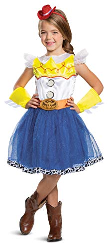 Jessie Tutu Deluxe Toy Story 4 Child Girls Costume, XS (3T-4T)