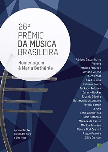 DVD 26º Prêmio da Música Brasileira - Homenagem a Maria Bethânia