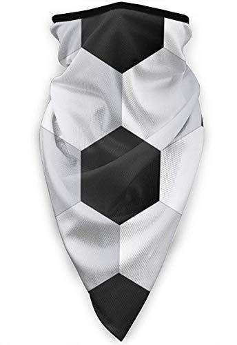 Qinckon Sport Ball Football Mascarilla a Prueba de Viento Pasamontañas Multifuncional Ski Motorcycle Mask Black