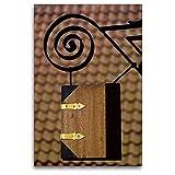 Premium Textil-Leinwand 80 x 120 cm Hoch-Format Ladenschild