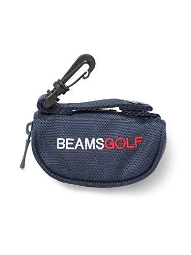 [ビームスゴルフ] ゴルフ ボールケース ネイビー One Size