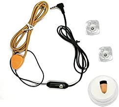 VCXN Ultimate Invisible Spy Earpiece kit (with 218 Earpiece and Inductive Loop)