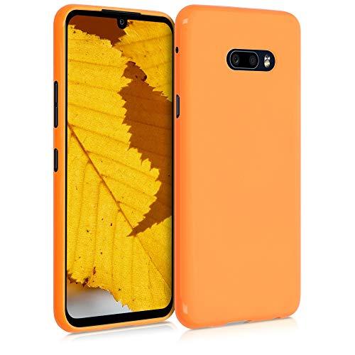 kwmobile Hülle kompatibel mit LG G8X ThinQ - Hülle Handyhülle - Handy Hülle in Cosmic Orange