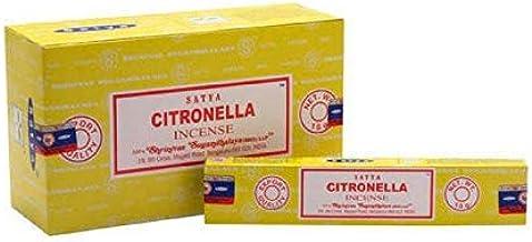 Satya Citronella Incense Sticks - 180 Grams - Premium Indian Incense