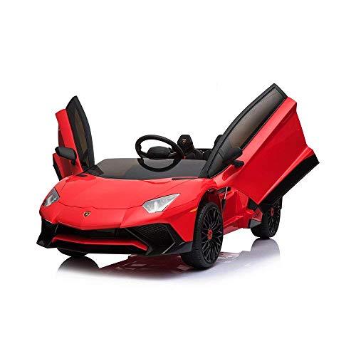 Kalco Jouets Lamborghini voiture électrique Aventador SV avec télécommande parentale