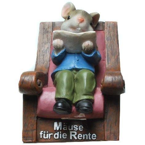 UDO SCHMIDT Spardose Mäuse für die Rente 4012221849890