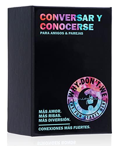 Conversar y Conocerse - 120 Tarjetas con Preguntas, Conversaciones, Juegos y más - Juego Divertido y romántico para Parejas