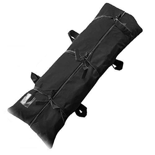Zhangfengjiao Draagbare Body Bag Stretcher met 4 Zijgrepen Combinatie, Waterdichte Slaapzak voor Outdoor Camping en Wandelen, Zwart