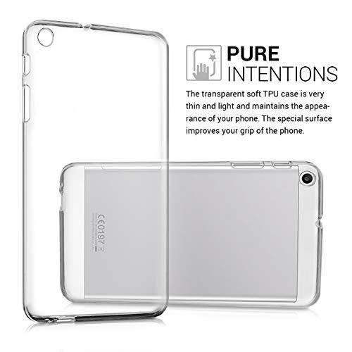 kwmobile Huawei MediaPad T1 7.0 Hülle - Silikon Tablet Cover Case Schutzhülle für Huawei MediaPad T1 7.0 - Transparent - 3