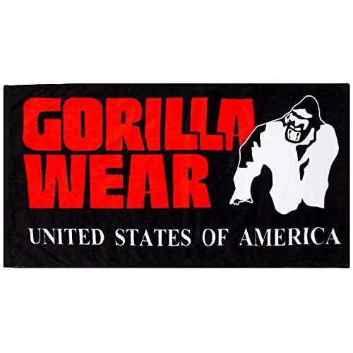 GORILLA WEAR Functional Gym Towel - 50 x 100cm - Bodybuilding und Fitness Accessoire für Damen und Herren
