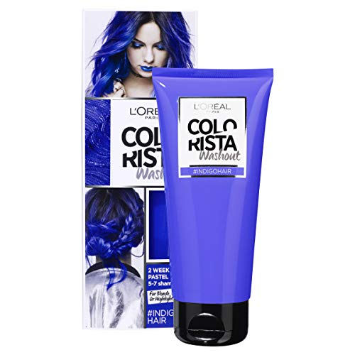 L'Oréal Colorista Washout Indigo Blue Semi-Permanent Hair Dye