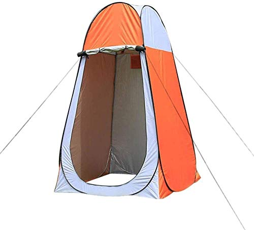 LYYJIAJU Outdoor privacy WC Tents Pop-Up Tent for Camping,Pod Toilet Tent Beach Dome Tents Privacy Cloakroom Single Mobile Folding Portable Tents