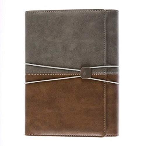 Cuaderno Punteado Diario A5 Cuaderno de Hojas Sueltas Cuaderno Multifuncional Diario de Cuerda Atada Cuaderno de Office Business 80 Hojas Cuaderno de Cuero a5 Cuadernos Baratos Cuaderno de