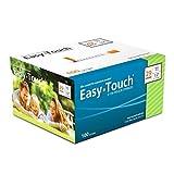 EasyTouch® U-100-29G, Insulin Syringes, 1cc/mL, 1/2' (Box of 100)
