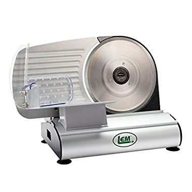 LEM Products 1240 Mighty Bite Belt Driven Meat Slicer (8.5-Inch Blade)