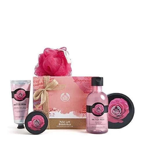 The Body Shop Petal-soft British Rose Premium Collection
