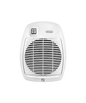 Foto di De'Longhi Termoventilatore HVA 0220, Solamente per Riscaldamento, 1000/2000 W, Per stanze fino a 60 m³, Bianco