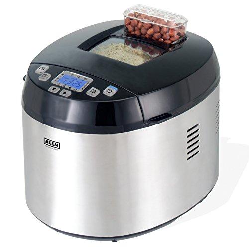 BEEM Multi-Back Topclass 5 in 1, Multifunktioneller Brotbackautomat, Reiskocher, Einkochautomat, Teigmaschine, Edition Eckart Witzigmann, Edelstahl