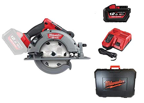 Milwaukee M18 FCS66-121C 18V Li-Ion Accu cirkelzaag set (1x 12.0Ah accu) in koffer - 190mm - koolborstelloos