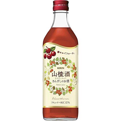 キリンビール洋酒 キリン サンザシ酒 サンザシチュウ 500ml 500ML 1本