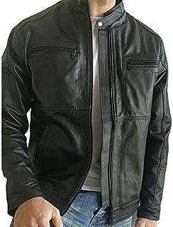 Jaquetas Masculina Couro legitimo (gg) (preto)