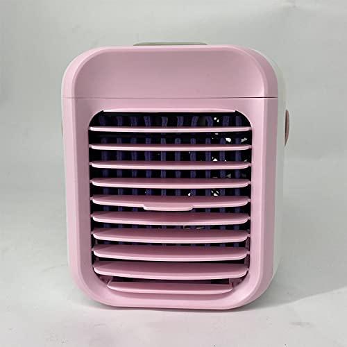 Condizionatore d'aria, mini refrigeratore d'aria 4-in-1, condizionatore d'aria personale, ventilatore evaporativo portatile, ventilatore di raffreddamento mobile, umidificatore, purificatore