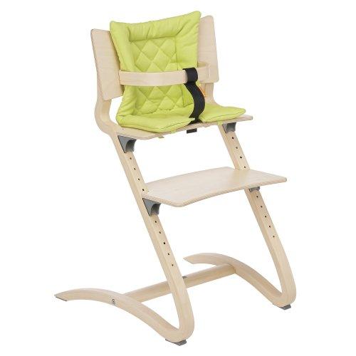 Sitzkissen fr Leander Kinderhochstuhl Babyhochstuhl Stuhl Hochstuhl Farbe: lime