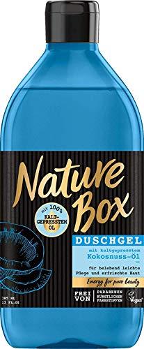 Preisvergleich Produktbild Nature Box Duschgel Kokosnuss-Öl,  385 ml