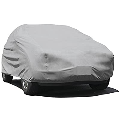 Budge Rain Barrier SUV Cover - (Polypropylene with Waterproof Film, Grey)