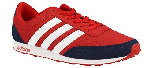 adidas V Racer, Zapatillas para Hombre, Rojo (Escarl/ftwbla/Maruni), 39 EU