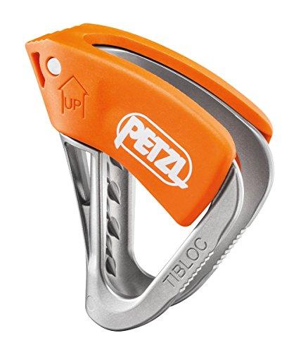 Petzl TIBLOC Ultraleichte Behelfsseilklemme SMD SL,Mehrfarbig (Orange/Grau)