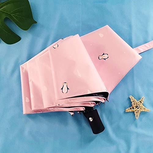 Parapluie Tempete Parapluie Femelle Automatique Pluie Et Pluie Double Usage Mâle Parapluie Compact...