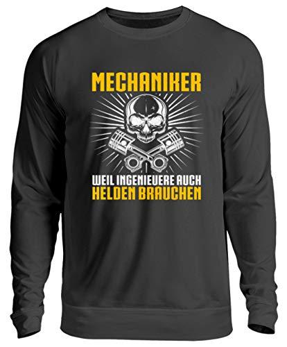 Chorchester Für Mechaniker und Ingenieuere - Unisex Pullover -S-Jet Schwarz