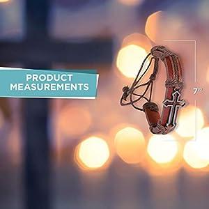 Metal Cross Bracelet (12 bracelets) - Jewelry - Bracelets - Novelty Bracelets