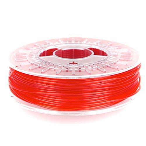 ColorFabb 8719033552593 Filamento PLA per Stampante 3D, Rosso Trasparente