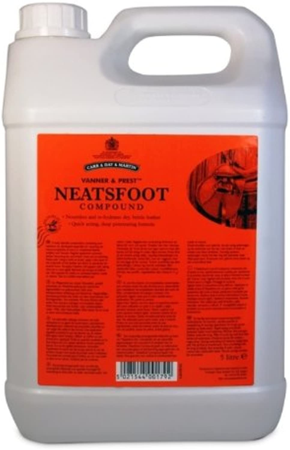 Carr & Day & Martin Pure Neatsfoot Leather Compound x Size  5 Lt