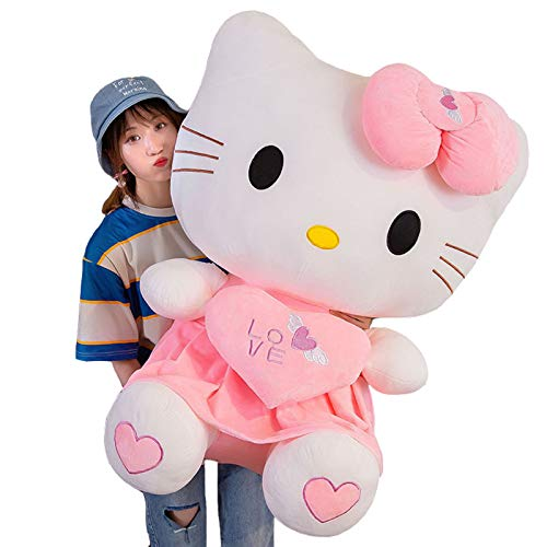 Lindo Juguete de Peluche Hello Kitty Muñecas Decoración Hogar Niña Niños Cumpleaños...
