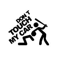 私の車の車のステッカーに触れないでくださいパーソナルボディステッカーサイズ19cm * 20cm (Size : 1)