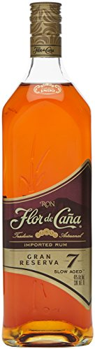 Flor de Cana Grand Reserve 7 Years Old  Rum (1 x 1 l)