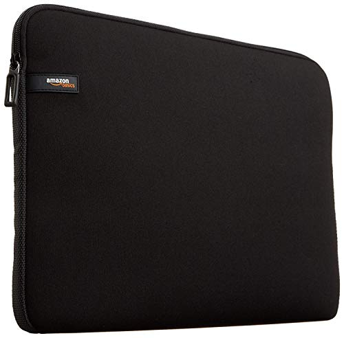 AmazonBasics Laptophülle für 33,8-cm-Laptops (13,3 Zoll, MacBook Air, MacBook Pro Retina Display) Schwarz