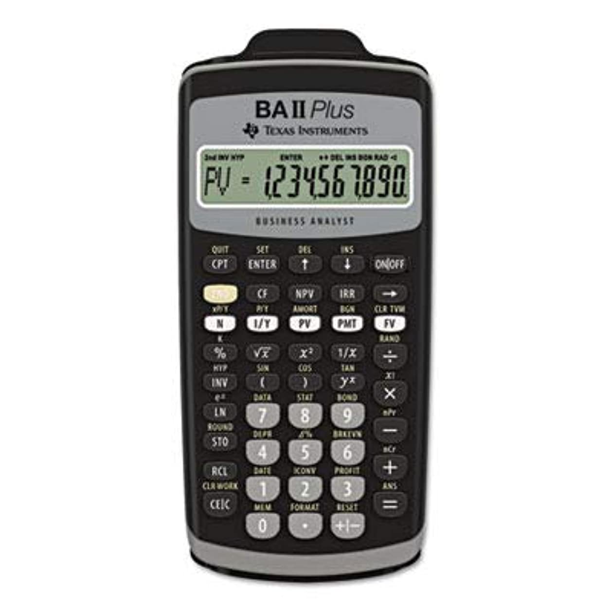 サーキュレーション百科事典フェザーTexas Instruments BAIIPLUS Financial Calculator