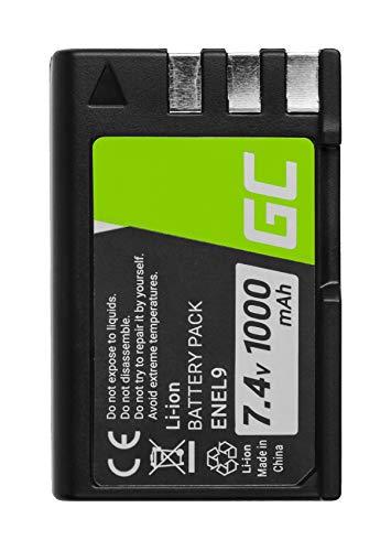 Green Cell® EN-EL9 EN-EL9A EN-EL9E Batería para Nikon D3000 D40 D40A D40C...