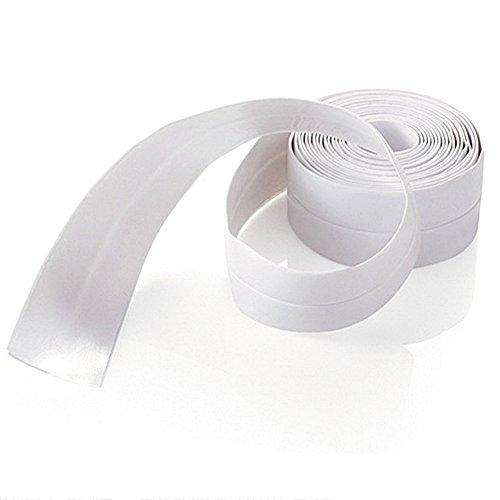 Nastro adesivo ad angolo per sigillatura, nastro impermeabile utilizzato in cucina, lavandino, WC, bagno, doccia e vasca da bagno in PVC