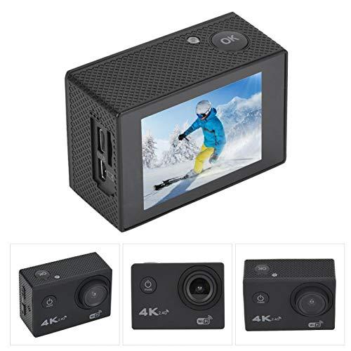 DAUERHAFT Función Impermeable de WiFi de la Pantalla LCD de la cámara 2.0inch de la acción del Registrador de la videocámara, para los Deportes
