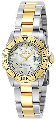 Invicta 6895 Pro Diver Reloj para Mujer acero inoxidable Cuarzo Esfera