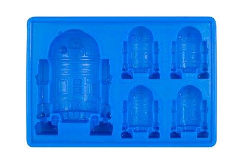 Star Wars GZ165 Eiswürfel und Backform, Größe 15.2 x 11 x 2.7 cm