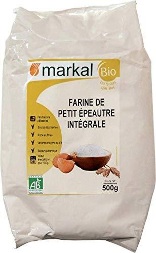 MARKAL Farine de petit épeautre intégrale 500G Bio -
