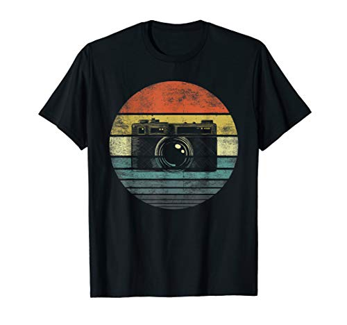 Retro Vintage Camera Photography Lover Photographer Gift T-Shirt